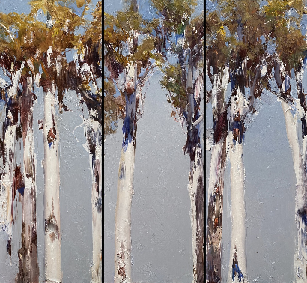 Dance of the Gums - Morning triptych