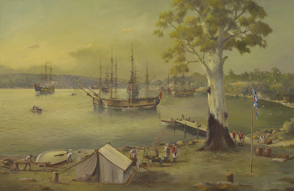 Sydney Cove March 1788