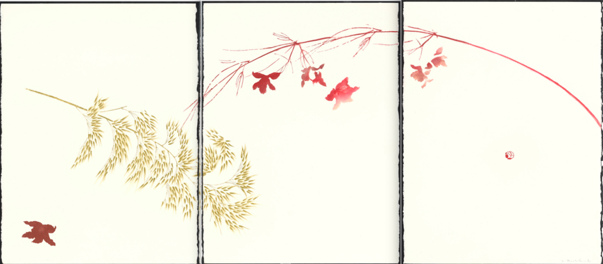 August Winds triptych