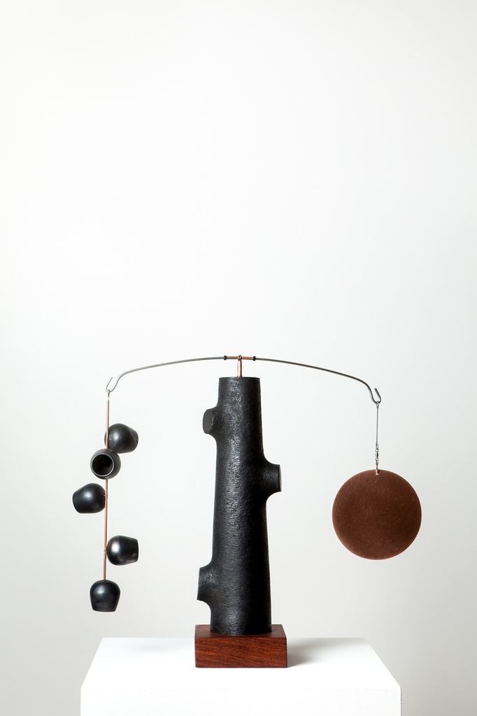 Counterbalance - Black Pods with Copper Disc #1