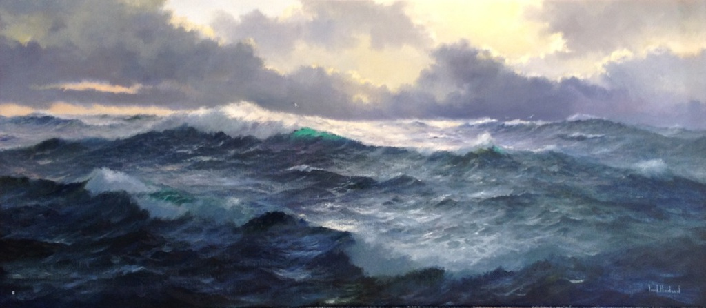 Waves and Bracing Winds