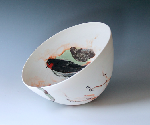 Welcome Swallow Rocking Bowl